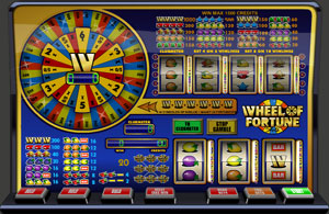 wheel of fortune speelautomaat